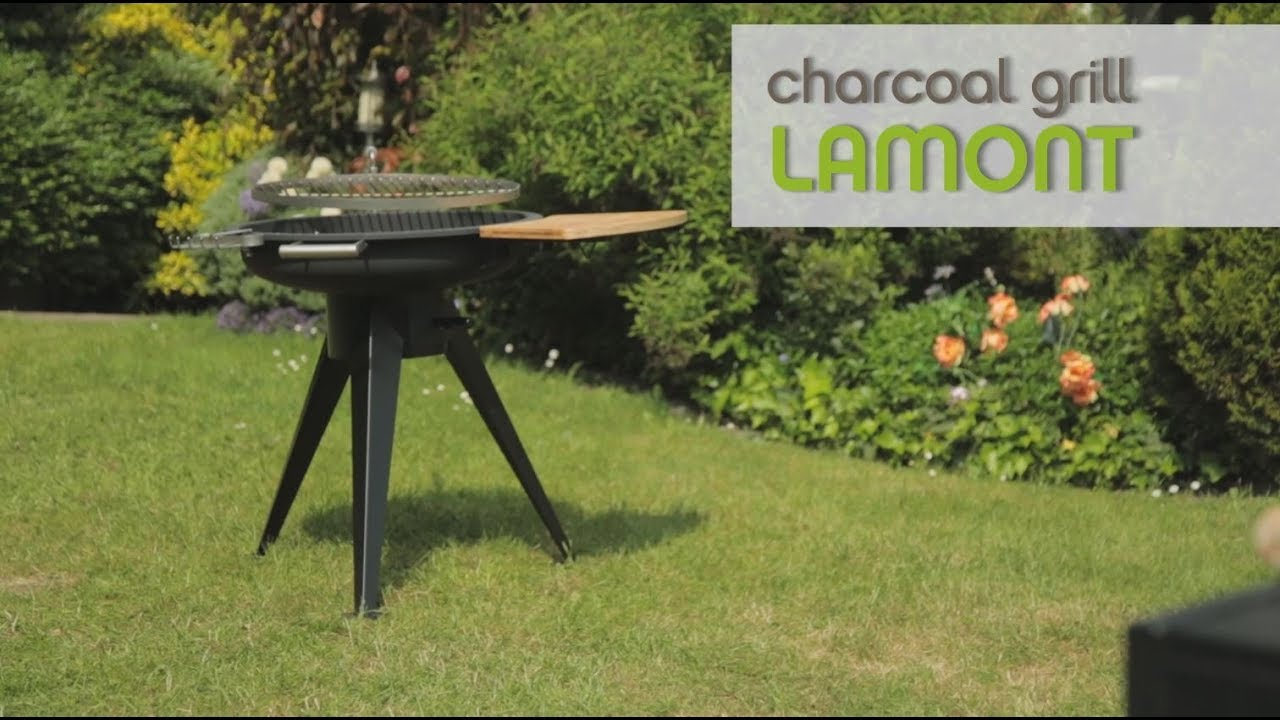 tepro charcoal grill lamont - youtube