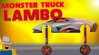 Vehicle Simulator   MONSTER TRUCK LAMBORGHINI EGOISTA!!!
