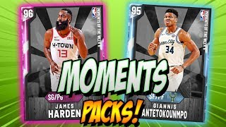 OPENING PACKS FOR BRAND NEW PINK DIAMOND JAMES HARDEN, GIANNIS ANTETOKOUNMPO, AND MORE