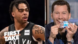 Will Cain takes Stephen A. Smith and Max Kellerman to task for failing to call out the most absurd part of D'Angelo Russell getting caught with contraband at ...