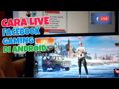 CARA LIVE STREAM FACEBOOK GAMING DI ANDROID DAN IPHONE