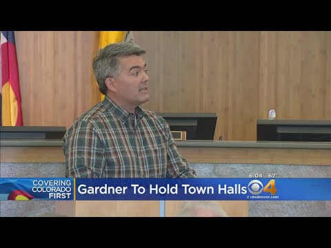 Sen. Cory Gardner Talks To Voters In Town Halls
