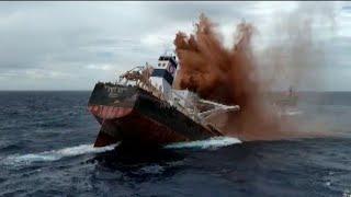Afundamento do Navio Stellar-Banner no Maranhão (Shipwreck)