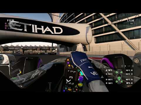 F1 2017 - The Best I Can at Abu Dhabi