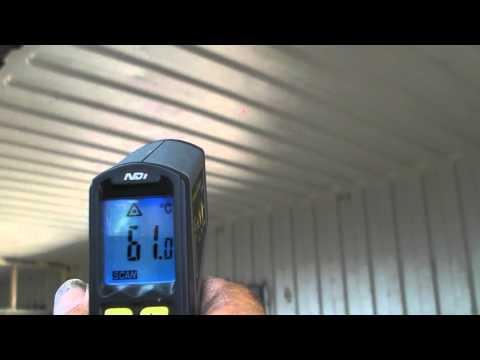 Supertherm insulation paint test