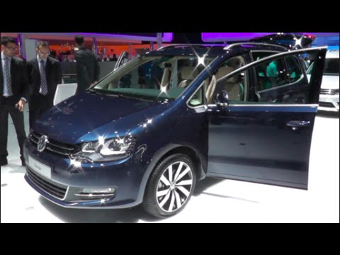 Volkswagen Sharan 2016 In Detail Review Walkaround Interior Exterior