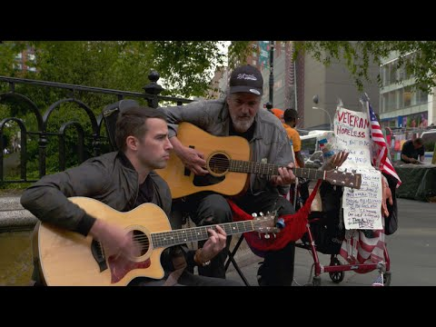 A More Perfect Union: Banker bonds with the homeless through music