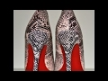 DIY Red bottom shoes - Natalie's Creations