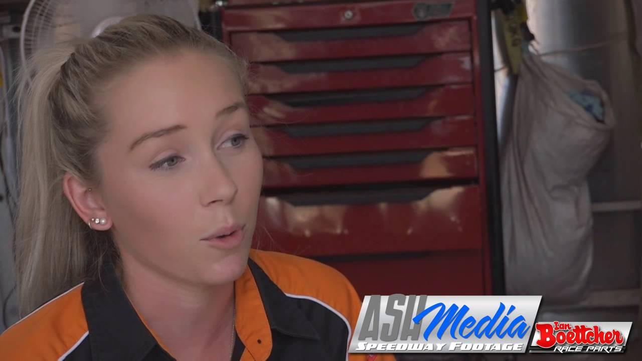 Speedway Sedans Australia Laura Byrnes Interview Youtube