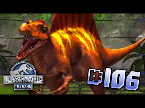 Spinosaurus Brawlasaur! || Jurassic World - The Game - Ep 106 HD