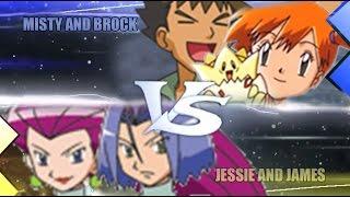 Pokemon Omega Ruby & Alpha Sapphire [ORAS]: Misty and Brock Vs Jessie and James