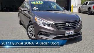 2017 Hyundai SONATA Sedan Sport Pittsburg Concord Walnut Creek Vallejo Fairfield