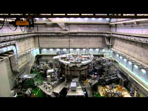 ITER - nuclear fusion power plant prototype