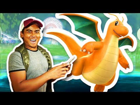 How To Catch A Dragonite + SANTA MONICA PIER | Pokemon GO