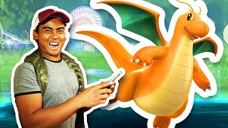 How To Catch A Dragonite + SANTA MONICA PIER | Pokemon GO