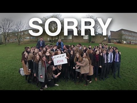 SORRY - RLS Class of 2016 Leaver's Video