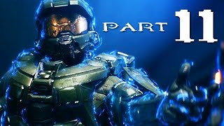 Halo 5 Guardians Walkthrough Part 11 - Mission 14 THE BREAKING (Halo 5 Campaign Gameplay)