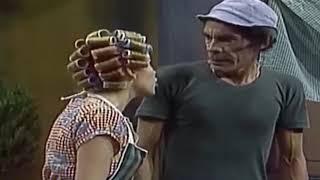 (El Chavo del Ocho) Don Ramón Quico y el Chavo se ríen de Doña Florinda