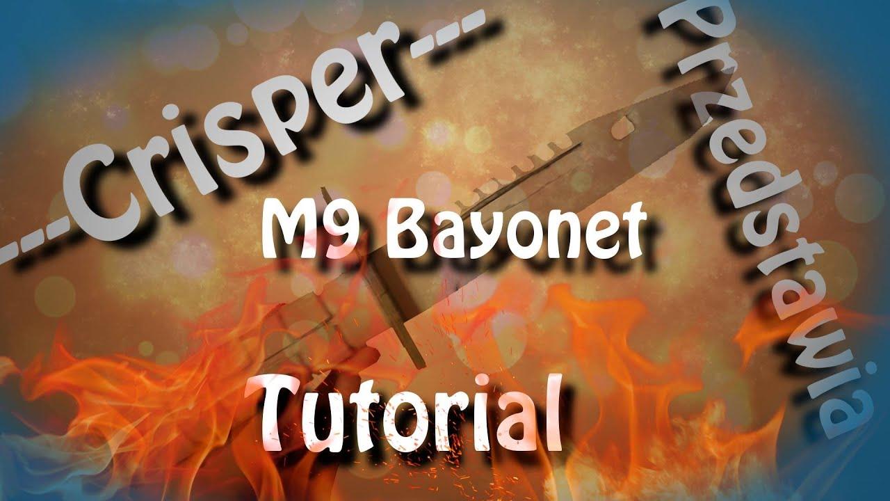 Jak zrobić papierowy M9 Bagnet