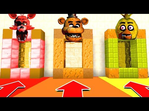Minecraft PE : DO NOT CHOOSE THE WRONG SECRET BASE! (Five Nights at Freddy's) PS4/XboxOne/PE/MCPE thumbnail