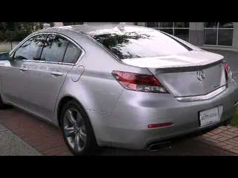 2014 acura tl sh awd with technology package youtube. Black Bedroom Furniture Sets. Home Design Ideas