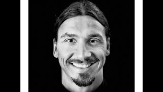 Drawing Zlatan Ibrahimovic the best player in the world