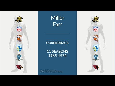 Miller Farr: Football Cornerback