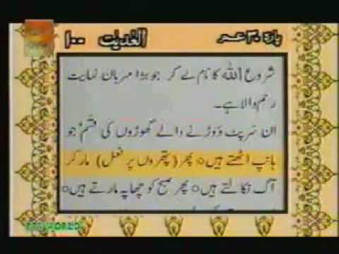 Surah Al Adiyat With urdu Translation Full