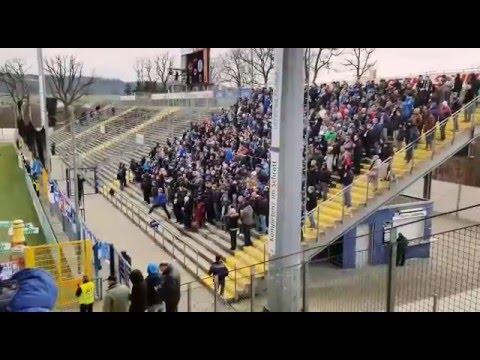 Stuttgarter kickers fans in Aalen