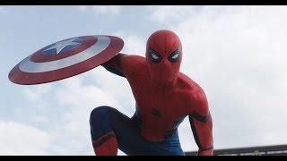 Гражданская Война И Человек-паук (Первый Мститель: Противостояние)