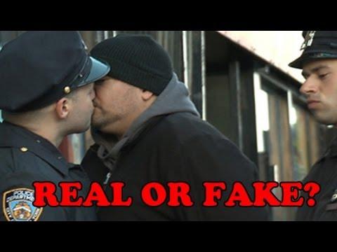 NYPD Stop & Kiss Program (REAL OR FAKE) #WTF
