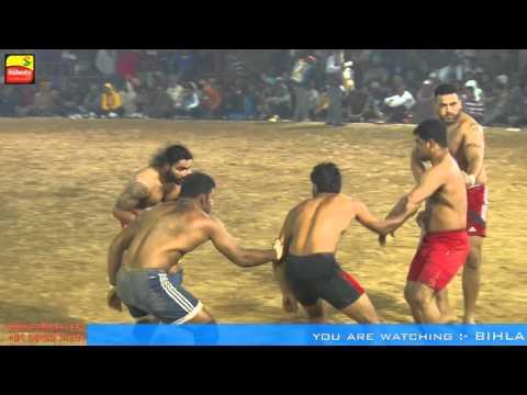 BIHLA (Barnala) ! KABADDI CUP - 2016 ! OPEN 1st QUARTER FINAL ! SHAMCHUARSI v/s JANETPUR ! Part 2nd