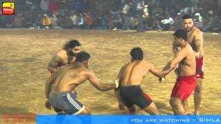 BIHLA (Barnala) ! KABADDI CUP - 2016 ! OPEN 1st QUARTER FINAL ! SHAMCHUARSI v/s JANETPUR ! Part 2nd