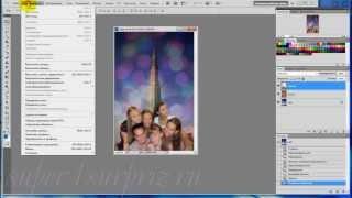 Коллаж за 2 минуты в программе фотошоп
