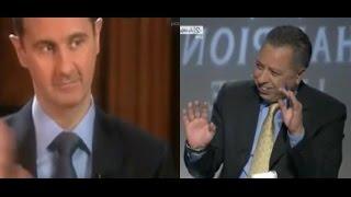 مذيع الجزيرة الرياضة يضحك على كذب بشار الأسد : لا نحب الحكم