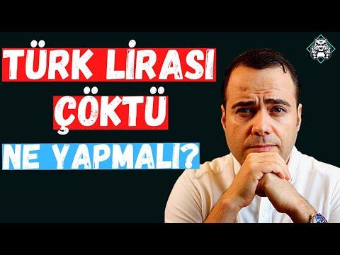 Türk Lirası Çöktü. Ne Yapmalıyız?
