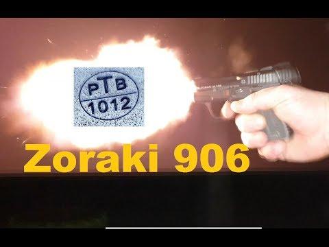 Zoraki 906 PTB 1012 Review Schusstest deutsch german