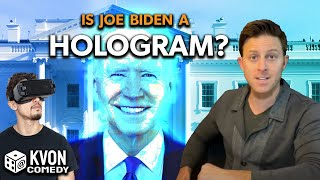 Is Biden a CGI Hologram or a Real Person? (K-von asks you to vote in the comments...)