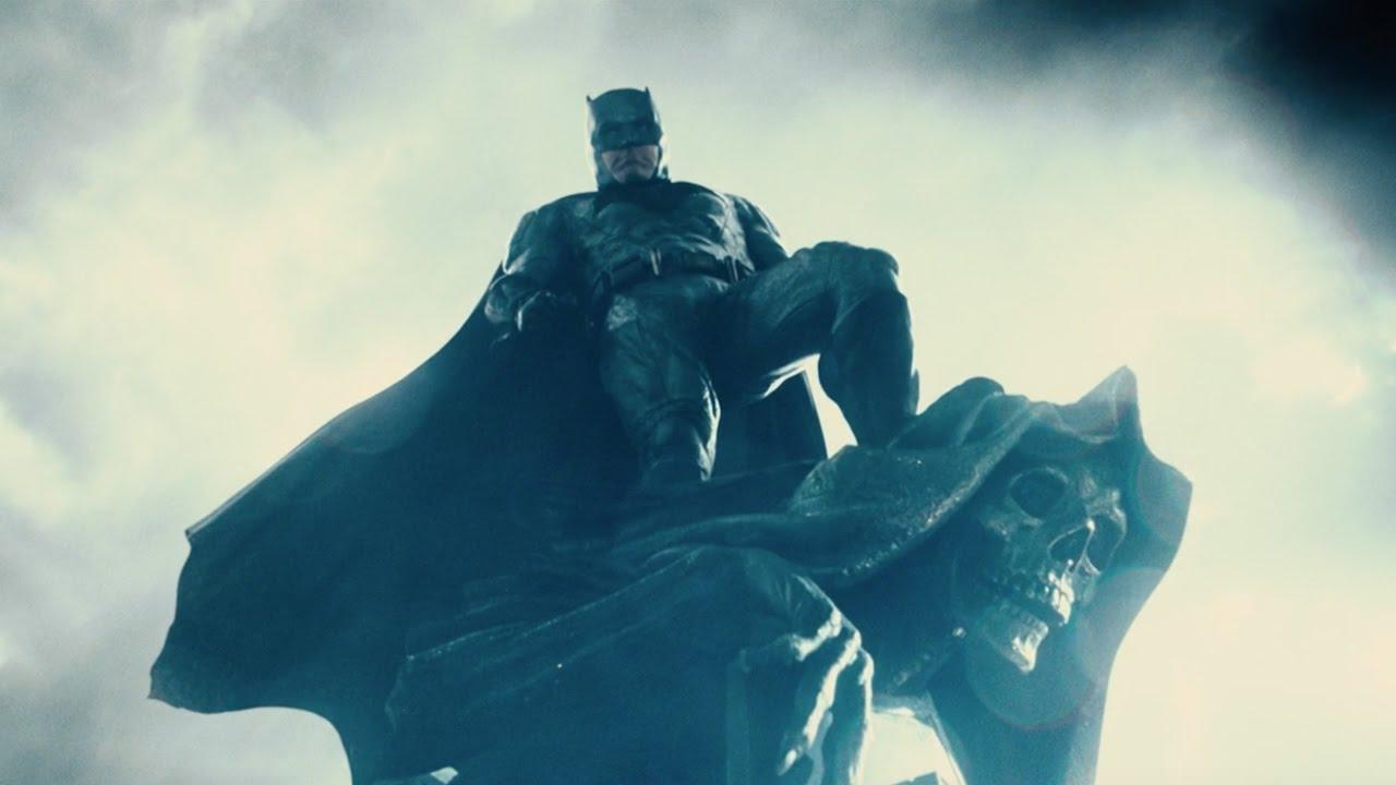 JUSTICE LEAGUE: The Bat Has Awoken In Another Badass Trailer Sneak Peek & Poster - First Look At Jim Gordon