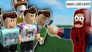 Roblox Youtuber Tycoon!!! - Denis, Ninja, Pewdiepie, Jacksepticeye & MANY MORE!