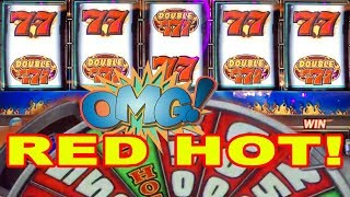 MAX BET SIZZLING 7 RED HOT FUSION ★ LIVE PLAY AT PARK MGM LAS VEGAS ➜ RED HOT FUSION