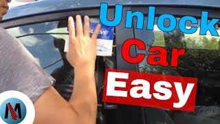 Locked Keys In Car How To Get In - The Easy Way!
