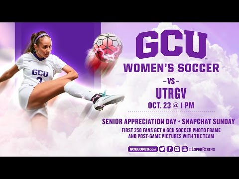 Women's Soccer vs UTRGV Oct 23rd, 2016