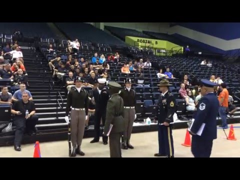 Fish Drill Team Tandem at World Drill Championships May 1, 2016