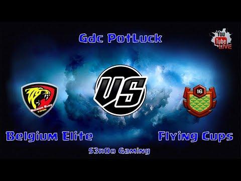 GdC PotLuck - Belgium Elite vs Flying Cups