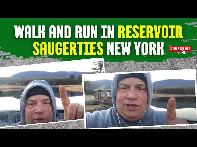 Reservoir walk. 3.5 miles