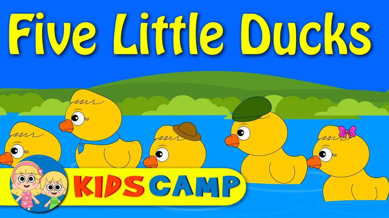 worksheet Rhymes With Day five little ducks went out one day nursery rhymes with lyrics youtube