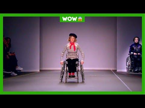 Elianne zit in een rolstoel én ze is topmodel