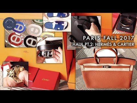 dcfe71721f Épique Men s Paris Haul Fall 2017 part 2  Hermès Cityback Birkin 40    Cartier Love Panthère