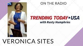 Live on the Radio in Atlanta | Veronica Sites